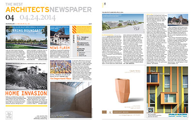 Architects Newspaper Central & Wolfe article